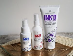 SKIN ACADEMY INK'D Tattoo Care
